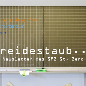 "NEU: Newsletter SFZ ""Kreidestaub"""